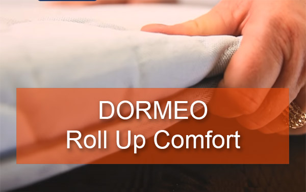 Матрас Dormeo roll up comfort