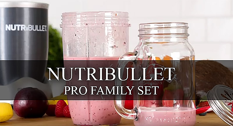 Блендер Nutribullet PRO family set